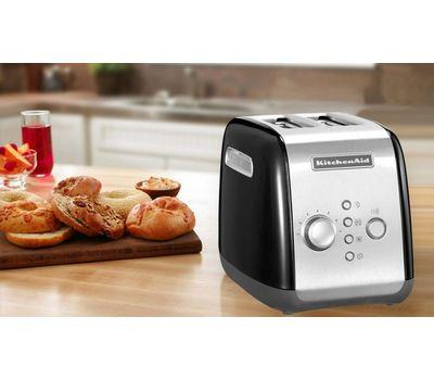 """Набор """"Завтрак 1"""" тостер 5KMT221E + чайник 5KEK1222E 1,25 л., серебряный, KitchenAid, фото 2"""