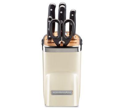 Набор ножей Professional Series, 7 предметов, кремовый, KKFMA07AC, KitchenAid, фото 4