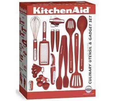 Набор кухонных инструментов, 17 предметов, в подарочной упаковке, KitchenAid, фото 2