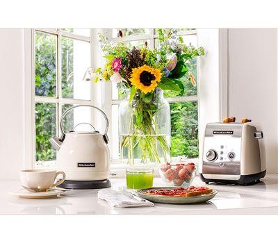 """Набор """"Завтрак"""" тостер 5KMT221E + чайник 5KEK1722 1,7 л., кремовый, KitchenAid, фото 2"""