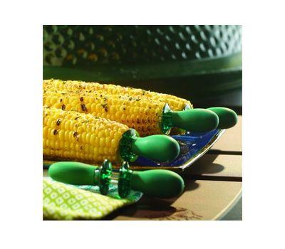 Держатели для кукурузы, 4 пары, зеленые, Big Green Egg, фото 2